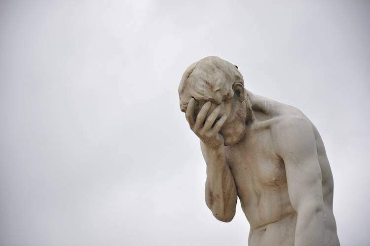 disappointment statue
