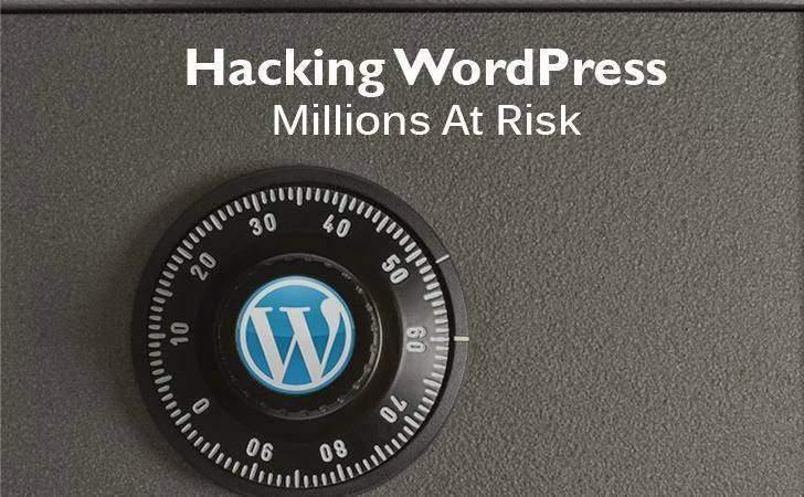 wordpress security vulnerability